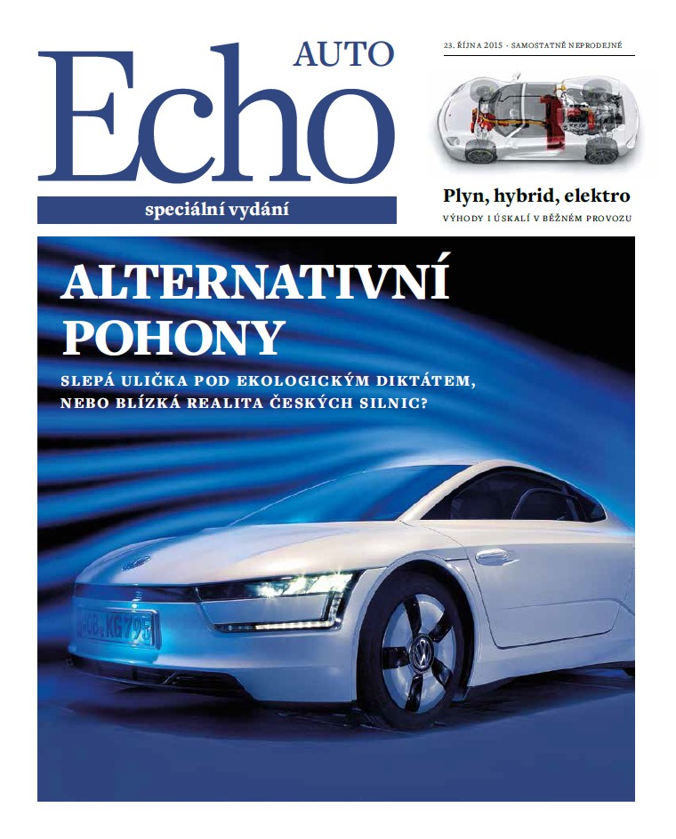 echo auto alternativni pohony 2015